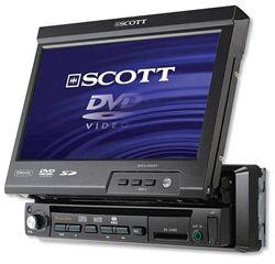 """[VENDU]Autoradio Lecteur DVD Ecran TFT 7"""" Scott_drxi900t-d820c9"""