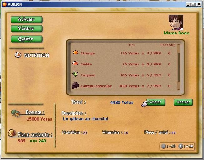 [Démo dispo] A-RPG, Kiro'o Tales: AURION Boutik-capture-1-b0a791