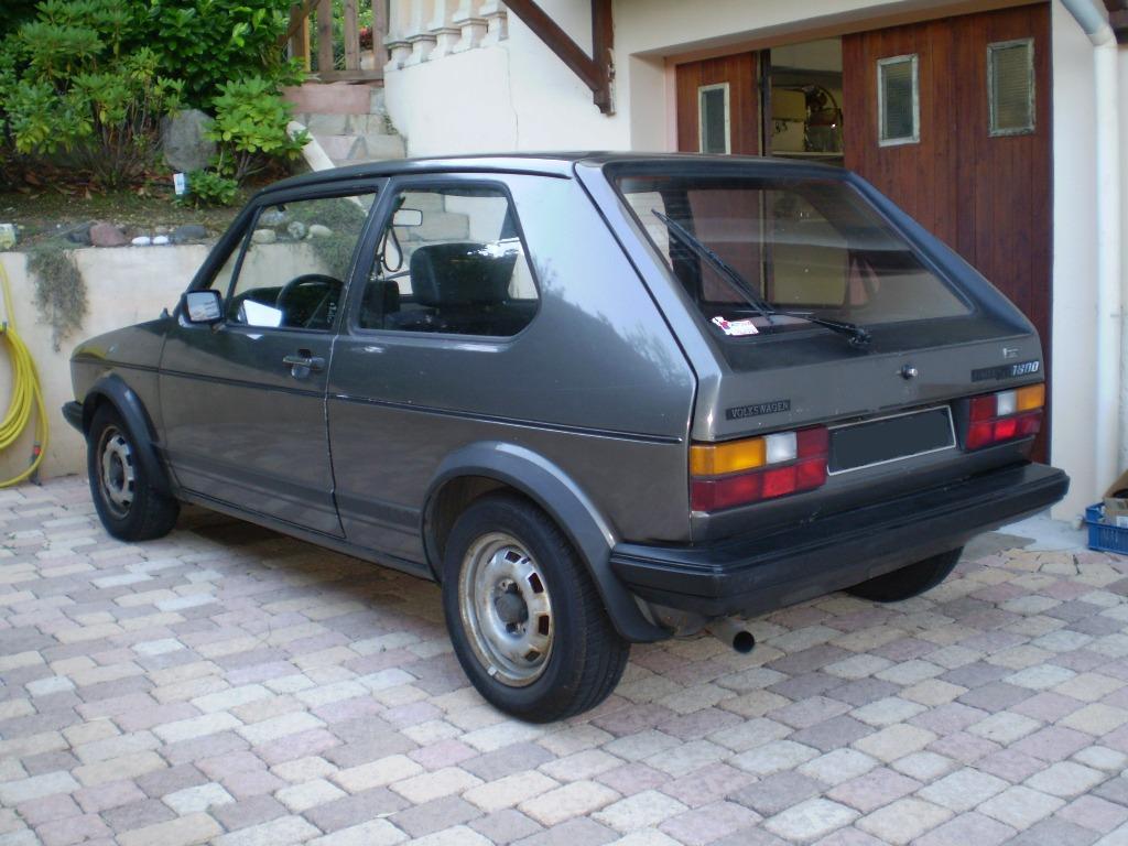 [Golf One GTI] 1800 83'