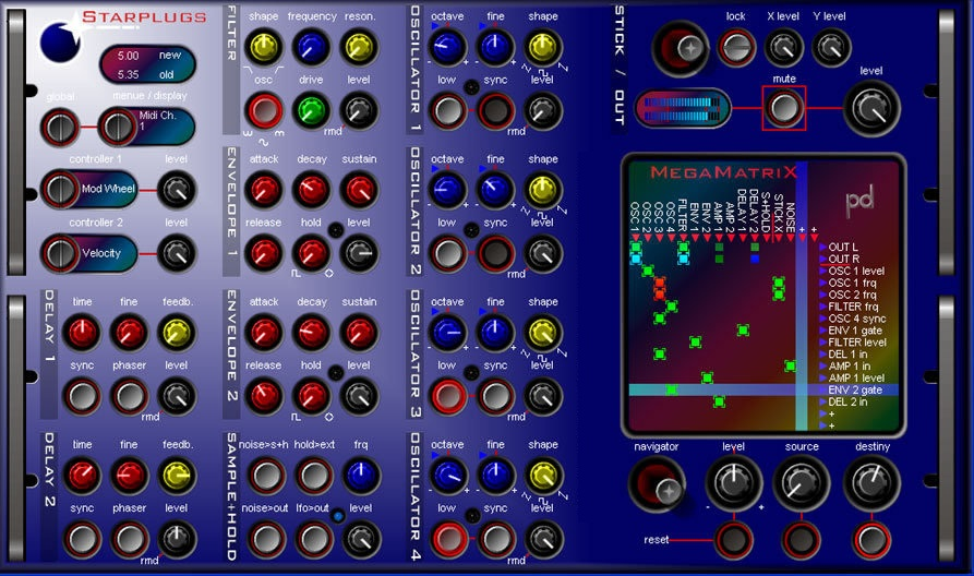 Starplugs MegaMatriX VST VSTi 1.10 ASSiGN, vsti vst starplugs vst starplugs vsti plugins, VSTi, VST, Starplugs, ASSiGN