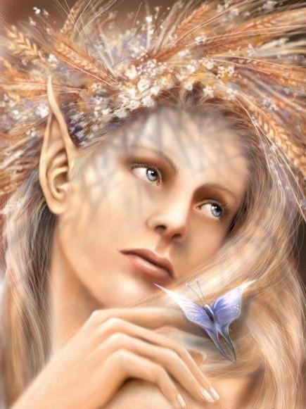 elfe-belle-femme-papillon-flora