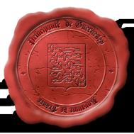 La maison des courriers Guernesey-rouge-f9584a