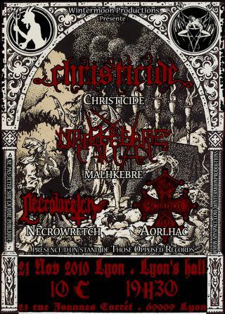 Christicide/Malhkebre/Aorlhac/Necrowretch 21.10.10, Lyon. Flyer_christicide_malhkebre-217d077