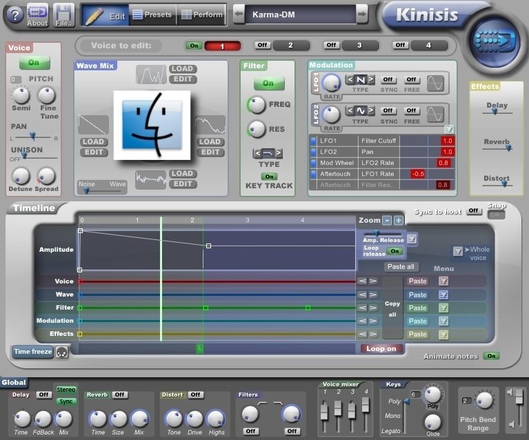 Progress Audio Kinisis AU VSTi 1.02 MAC